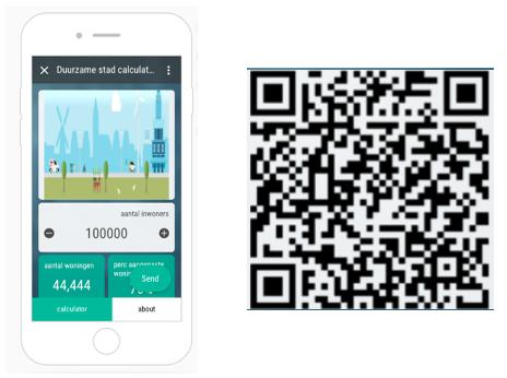 de duurzame stad app